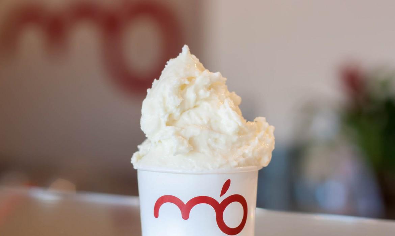 gelato al gusto di cocco m'o il gelato